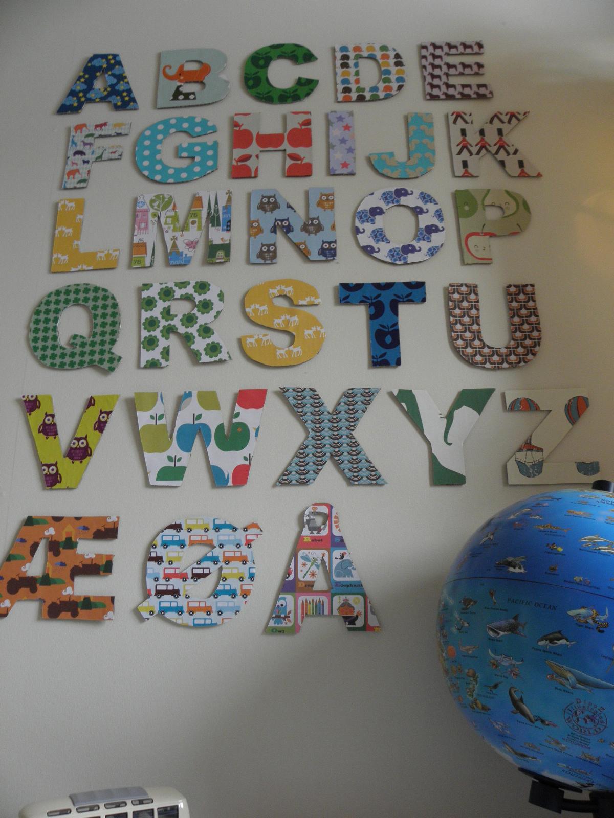Alfabet på veggen #2